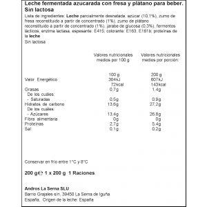 Yogur liquid s/lact fresa-plat dhul 200gr