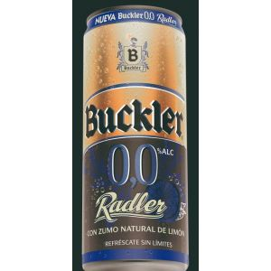 Cerveza sin alcohol 0,0% radler buckler  33cl