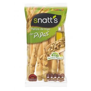 Santts palitos de trigo con pipas 62gr