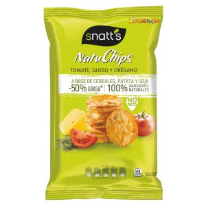 Aperitivo natuchips tomate/queso/oregano grefusa 85g