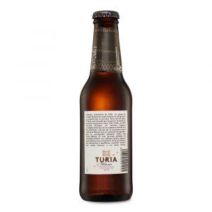 Cerveza turia botella 25cl