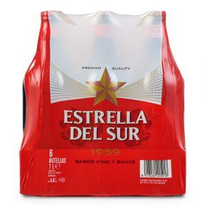 Cerveza estrella del sur botella 1l