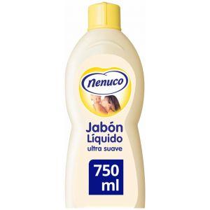 Jabon liquido ultra suave aloe nenuco 750 ml