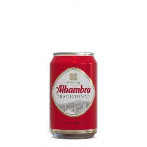 Cerveza alhambra lata 33cl
