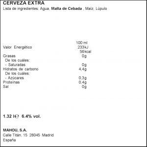 Cerveza reserva 1925  alhambra  p4x33cl