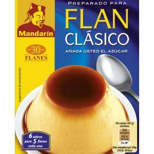 Preparado para flan clásico mandarin dr. oetcker 92g