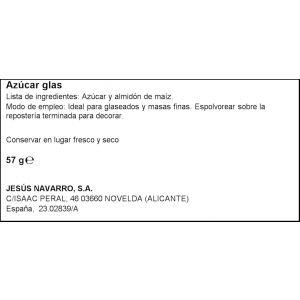 Azucar glass carmencita 57g