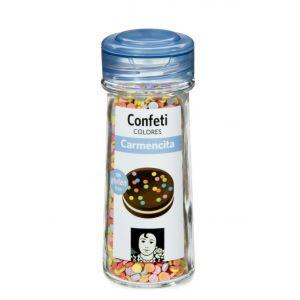 Confeti colores carmencita 55g