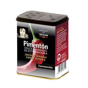 Pimenton dulce ahumado carmencita 75g