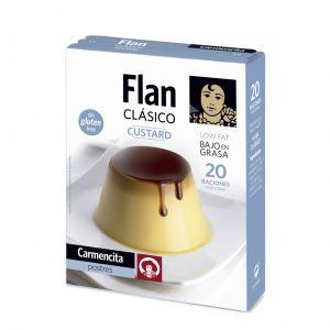 Preparado flan clasico carmencita 20gr