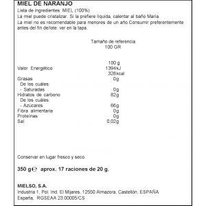 Miel antigoteo azahar brezal 350g
