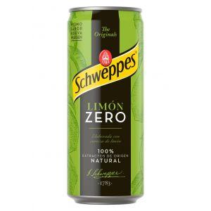 Refresco zero limon schweppes lata 33cl