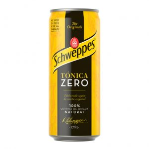 Tonica zero  schweppes lata 33cl