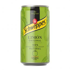 Refresco original limon schweppes lata 25cl