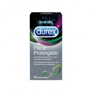 Preservativos placer polongado durex 12ud