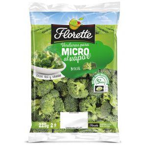 Brocoli para microondas florette 225g
