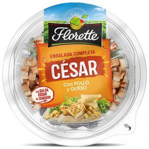 Ensalada césar con pollo lista para comer florette 210g