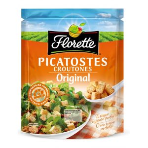 Toppings picatostes naturales florette 65g