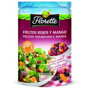 Toppings frutos rojos florette 55g