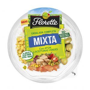 Ensalada completa mixta lista para comer florette barqueta 190g