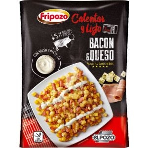 Preparado huevos rotos bacon y queso fripozo bolsa 330gr