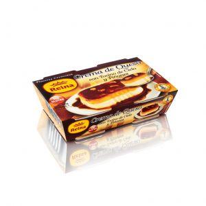 Crema de queso con tocino y piñones reina p2x90g