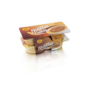 Natillas con galleta reina p4x125g