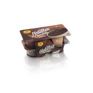 Natillas bizcocho chocolat reina p4x125g