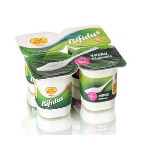 Yogur bifidus 0% edulcorado reina p4x 125gr