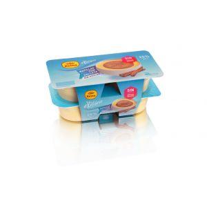 Natillas equilib con galleta reina p4x125g