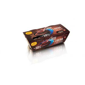 Mousse +ligera de chocolate reina p2x120g