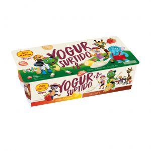 Yogur fresa-platamp y galleta  reina p8x125gr
