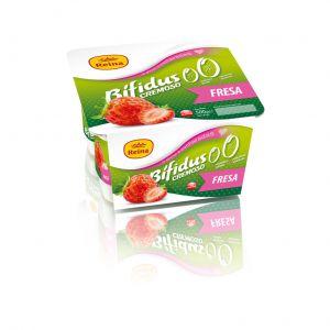Yogur bifidus cremoso 0% fresa reina p4x 125g