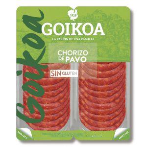 Chorizo de pavo goikoa bipack 2x75g