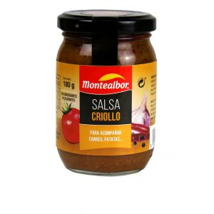 Salsa criolla montealbor tarro 180g