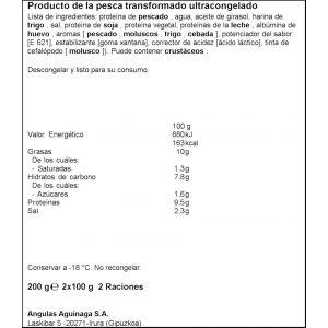 Gula del norte cazuela angulas angulagas p2x100g