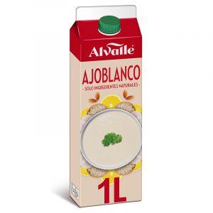 Gazpacho refrigerado almendras ajoblanco alvalle 1l