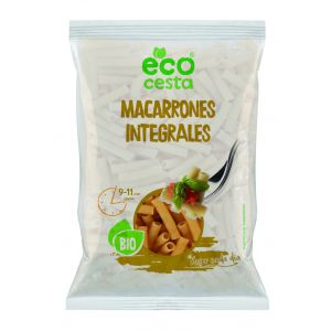Macarrones integrales bio ecocesta 500g