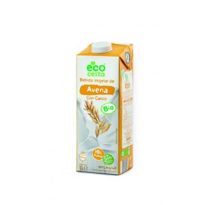 Bebida avena calcio bio ecocesta 1l