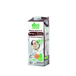Bebida arroz y coco bio ecocesta 1l