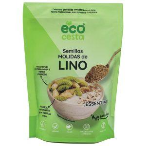 Semillas molidas lino bio ecocesta 200g