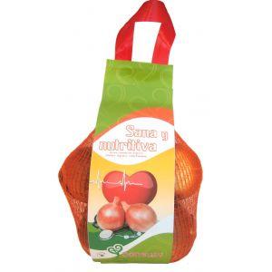 Cebollas seca   bolsa 1k aprox