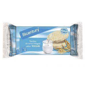 Tortitas de arroz con yogurt bicentury 150g