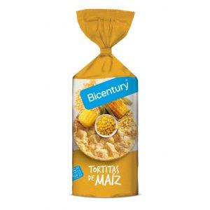 Tortitas de maiz bicentury 130g