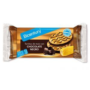 Tortitas de maiz chocolate negro bicentury 90,4g