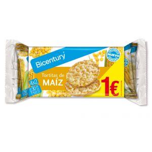 Tortitas de maiz bicentury p4x2x60g