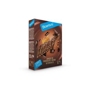 Barrita sarialis chocolate negro bicentury 120g