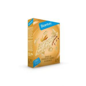 Barrita sarialis chocolate blanco bicentury 120g