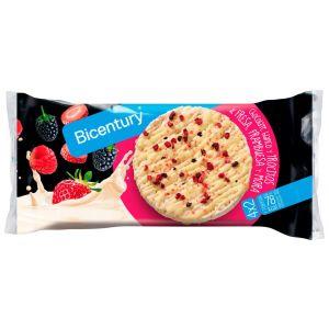 Tortitas de frutos rojos bicentury 198g
