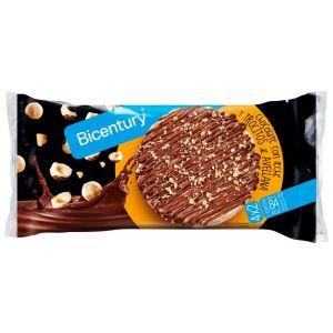 Tortitas chocolate con leche y avellanas bicentury 198g